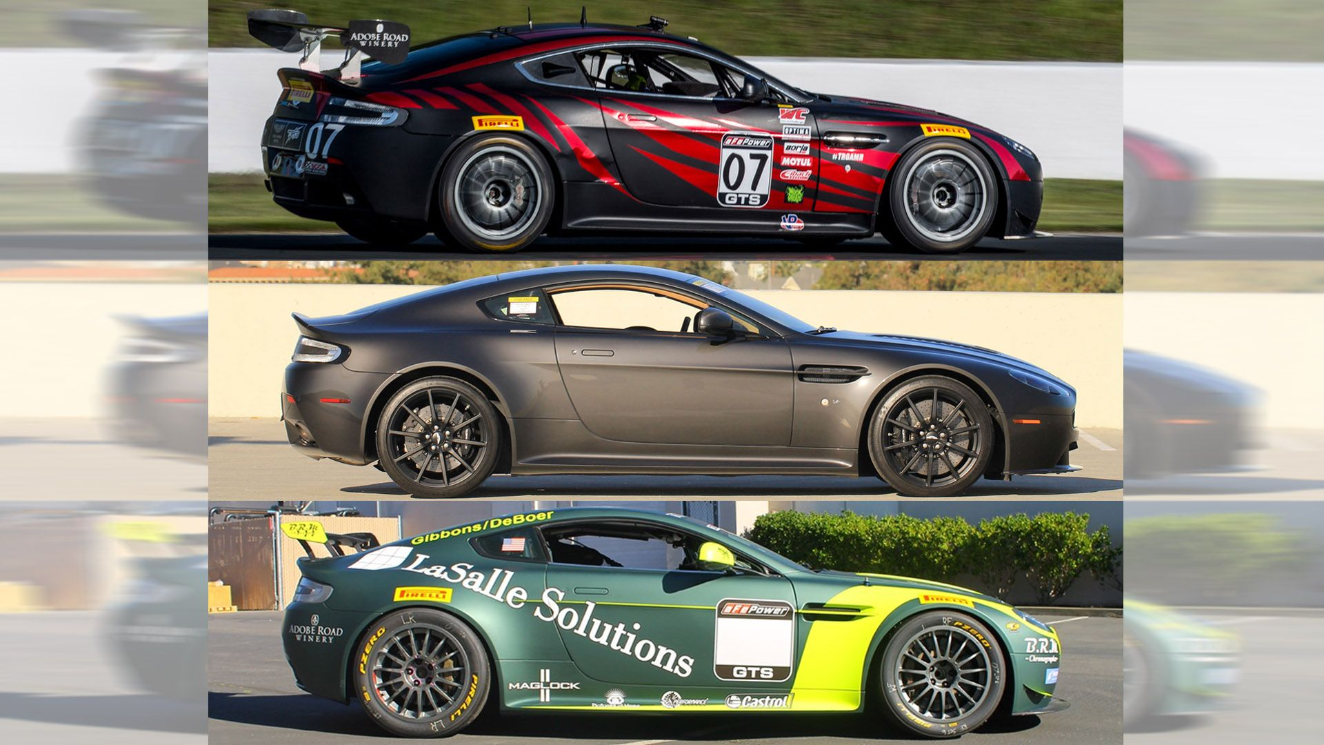 Road Or Track Which Aston Martin Vantage Would You Buy