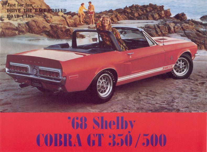 1968 Mustang Length