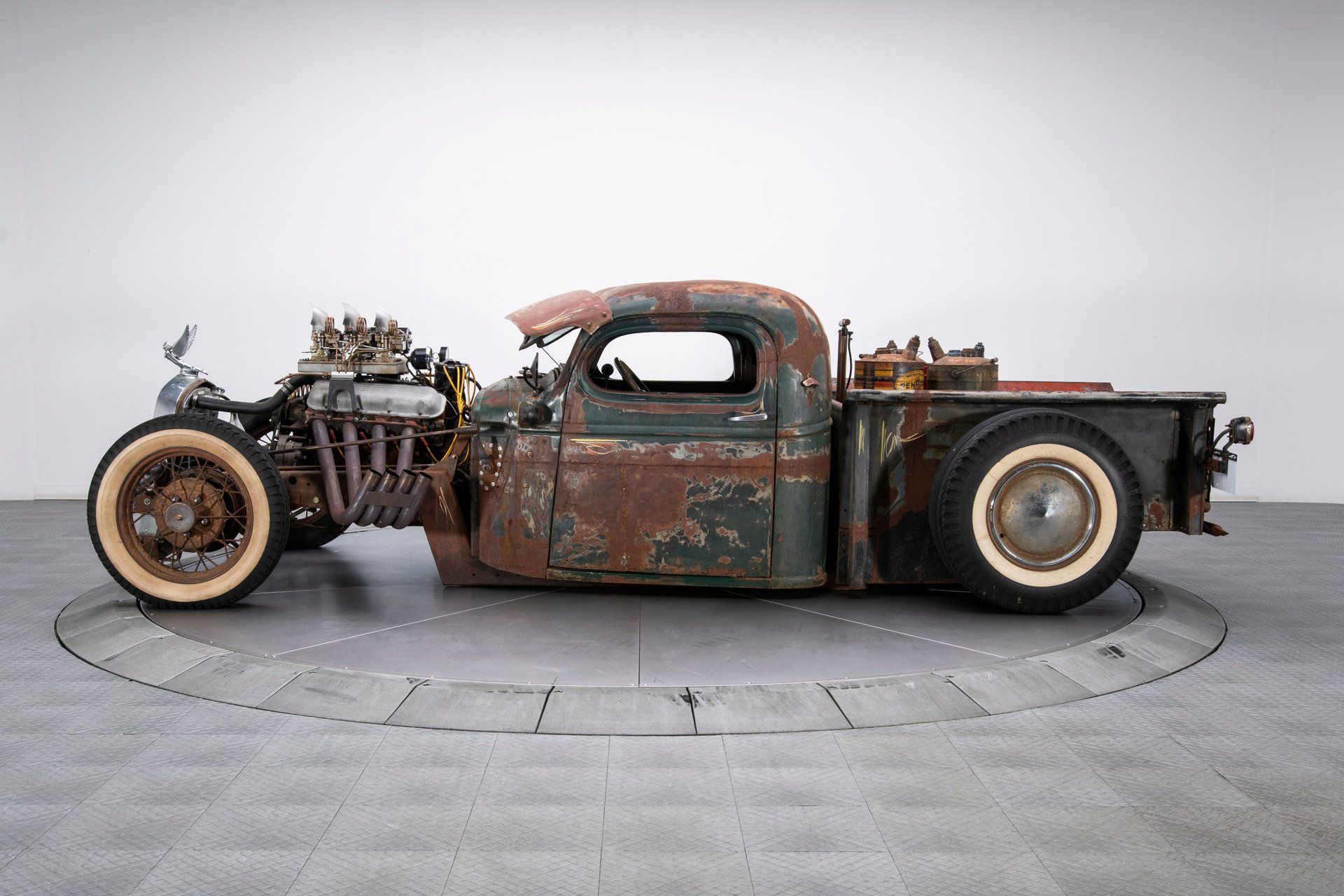 Take A Ride On The Wild Side In This Custom 1949 Chevy Rat Rod