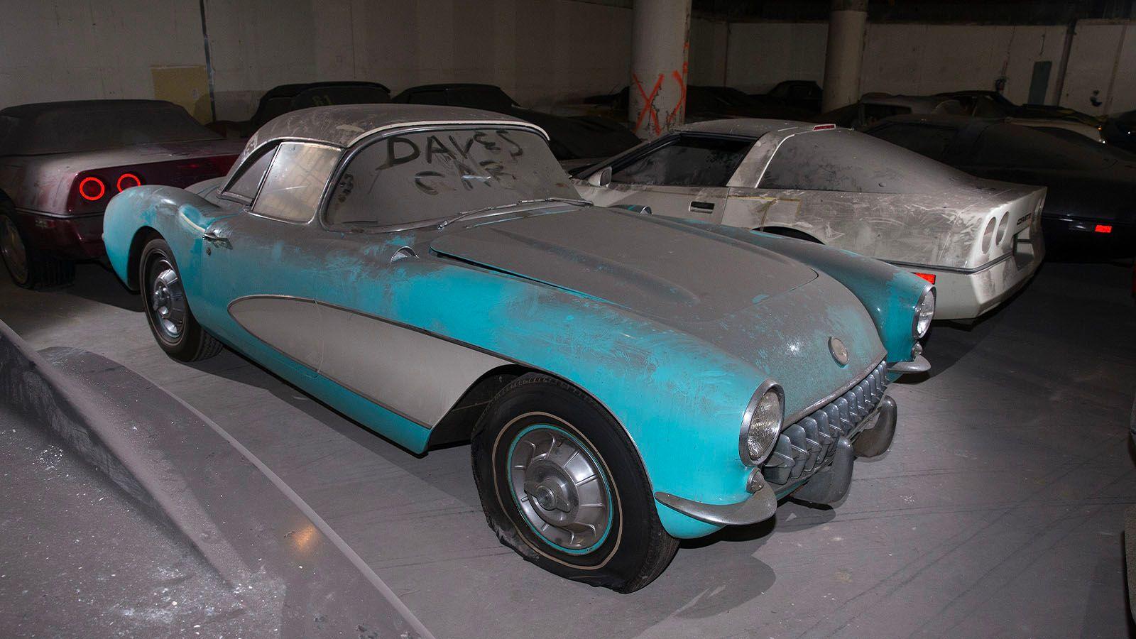 """<img src=""""1956-corvette-barn-find-front.jpg"""" alt=""""This rare 1956 Chevrolet Corvette is one of 36 Corvettes left for 30 years"""">"""