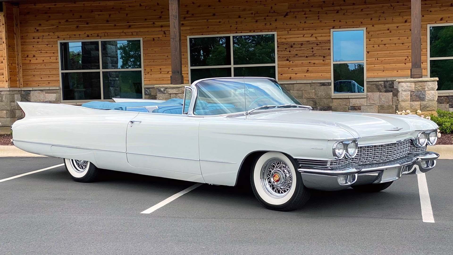 1960 Cadillac Series 62 Is A Fintastic Cruiser