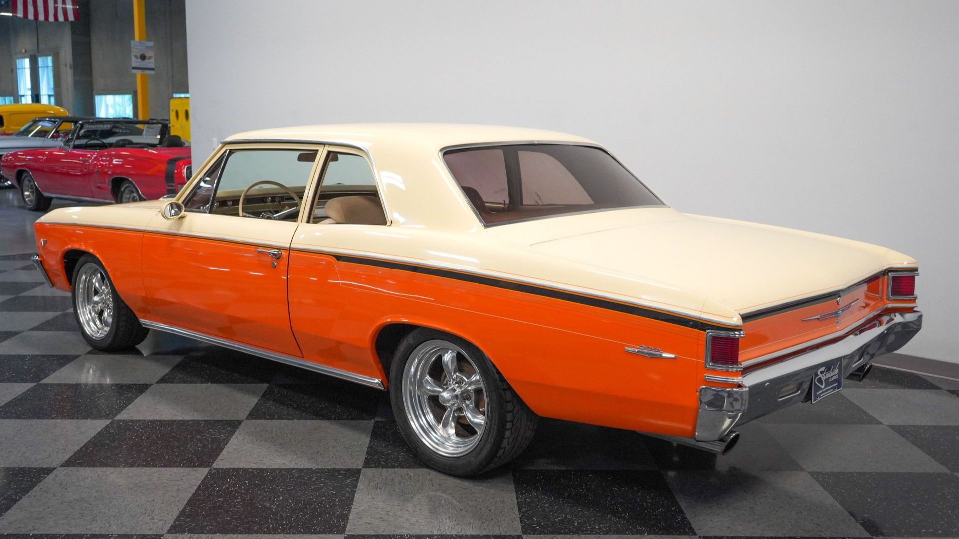 Restomod 1967 Chevy Chevelle 300 Deluxe Will Grip You