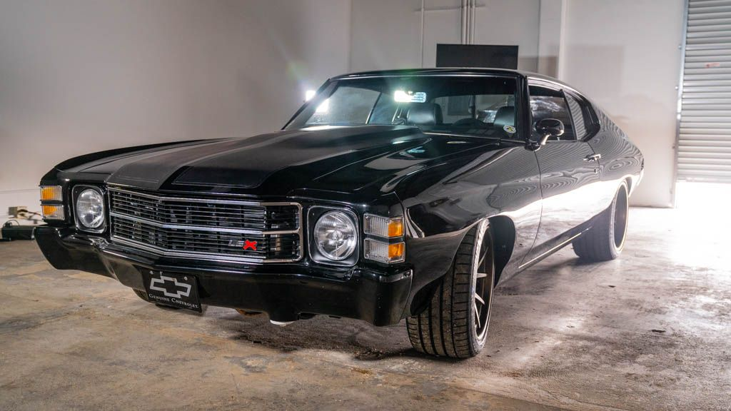 "<img src=""1971-chevelle-front-three.jpg"" alt=""A supercharged 1971 Chevrolet Chevelle restomod"">"