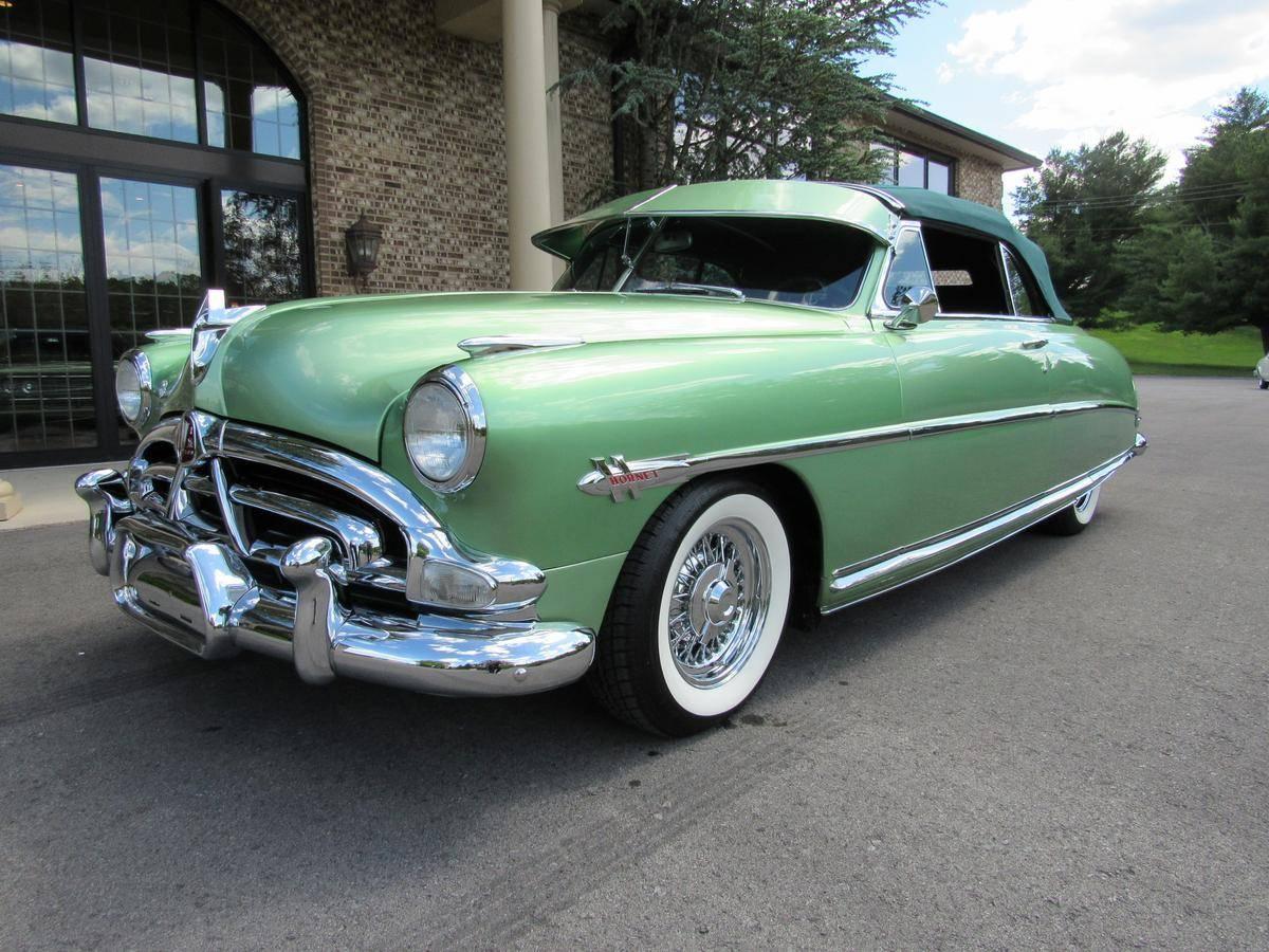 """<img src=""""1952-hudson-hornet-1.jpg"""" alt=""""A rare 1952 Hudson Hornet Convertible heading to auction"""">"""
