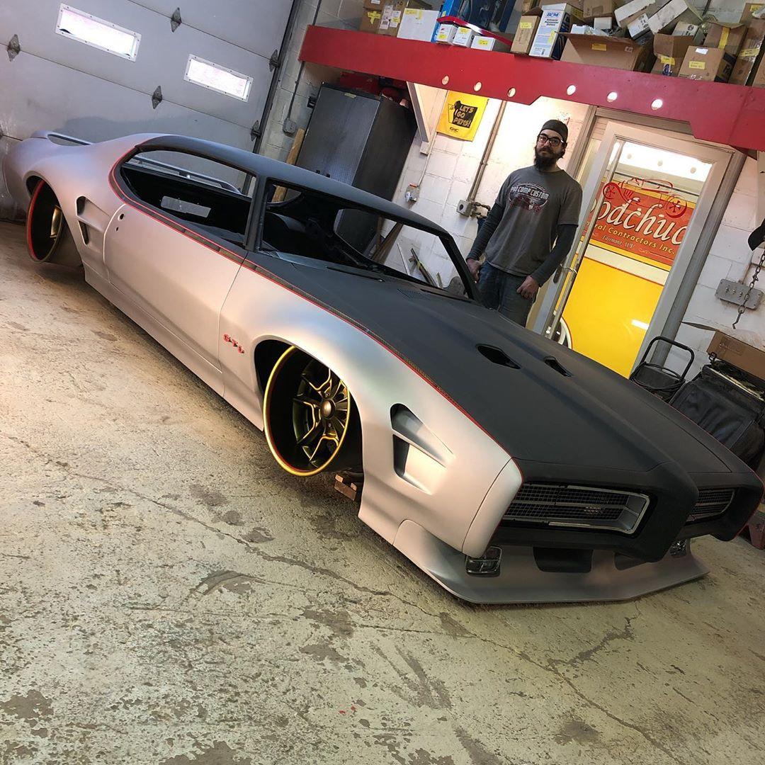 """<img src=""""pontiac-gto-2.jpg"""" alt=""""A 1969 Pontiac GTO restomod bound for SEMA"""">"""