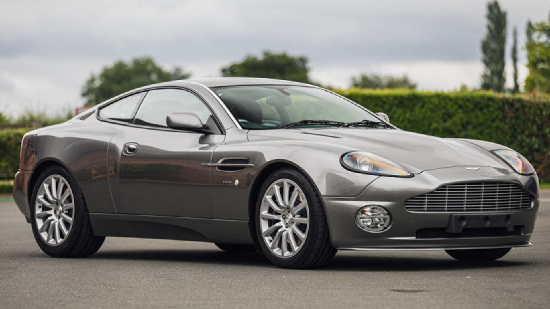 Royal Family S 2003 Aston Martin V12 Vanquish Heading To Auction