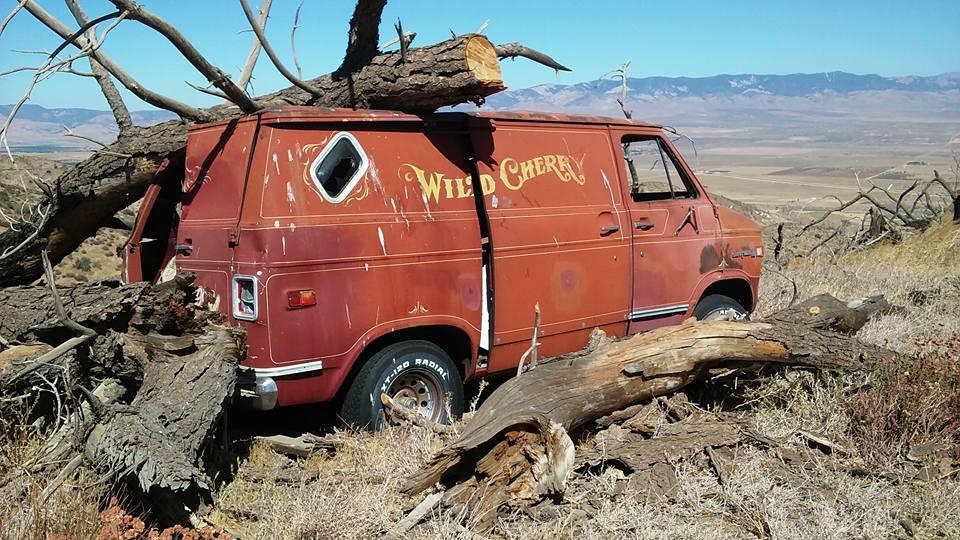 "<img src=""wild-cherry.jpg"" alt=""Wild Cherry van has seen better days"">"