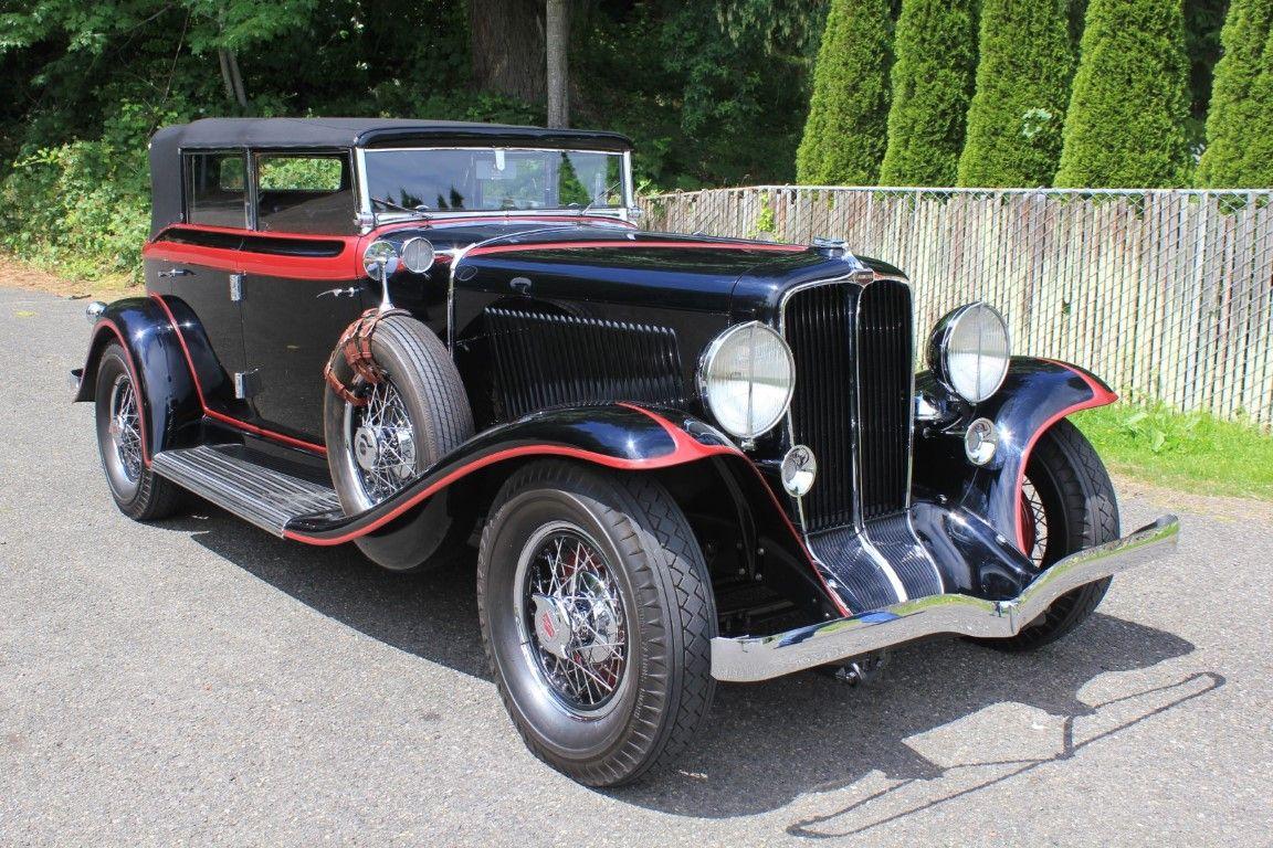 "<img src=""1931-auburn.jpg"" alt=""A restored 1931 Auburn 8-98 Phaeton heading to the auction block"">"