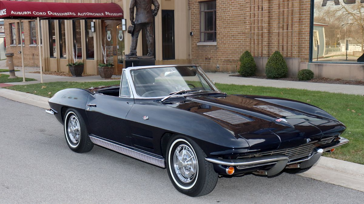 """<img src=""""1963-chevy-corvette-1.jpg"""" alt=""""A 1963 Chevrolet Corvette Sting Ray to be given away in a sweepstakes"""">"""