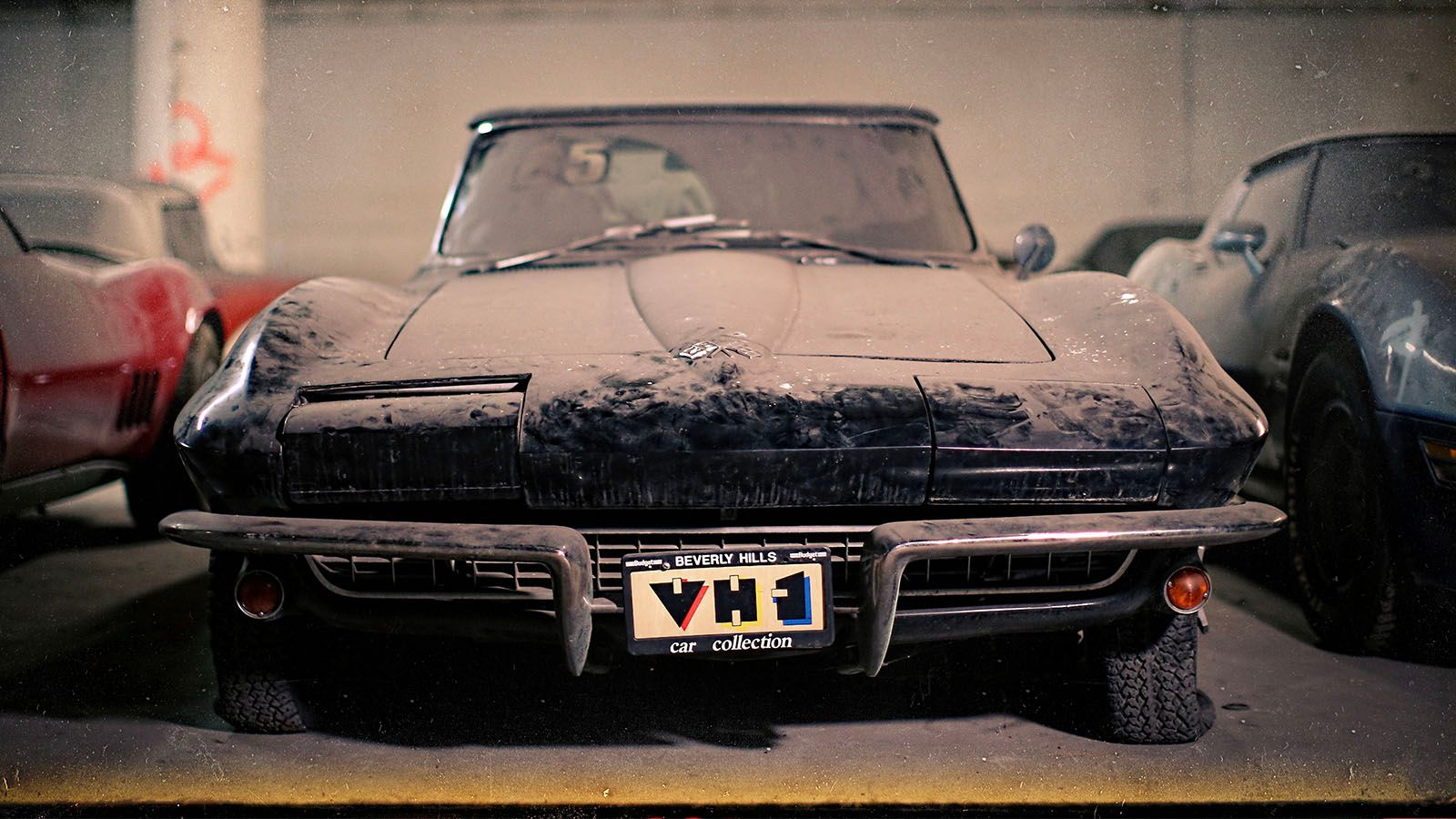 """<img src=""""1965-corvette-jpg"""" alt=""""A 1965 Chevrolet Corvette that was part of the 36 cars found in various parking garages around NYC"""">"""