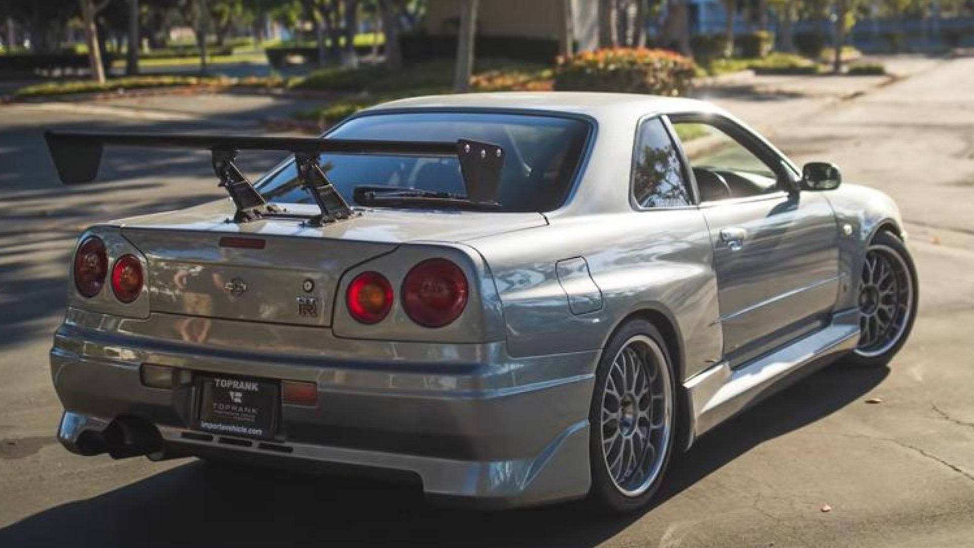 Get A Thorough Tour Of Paul Walker S Nissan Skyline R34 Gt R