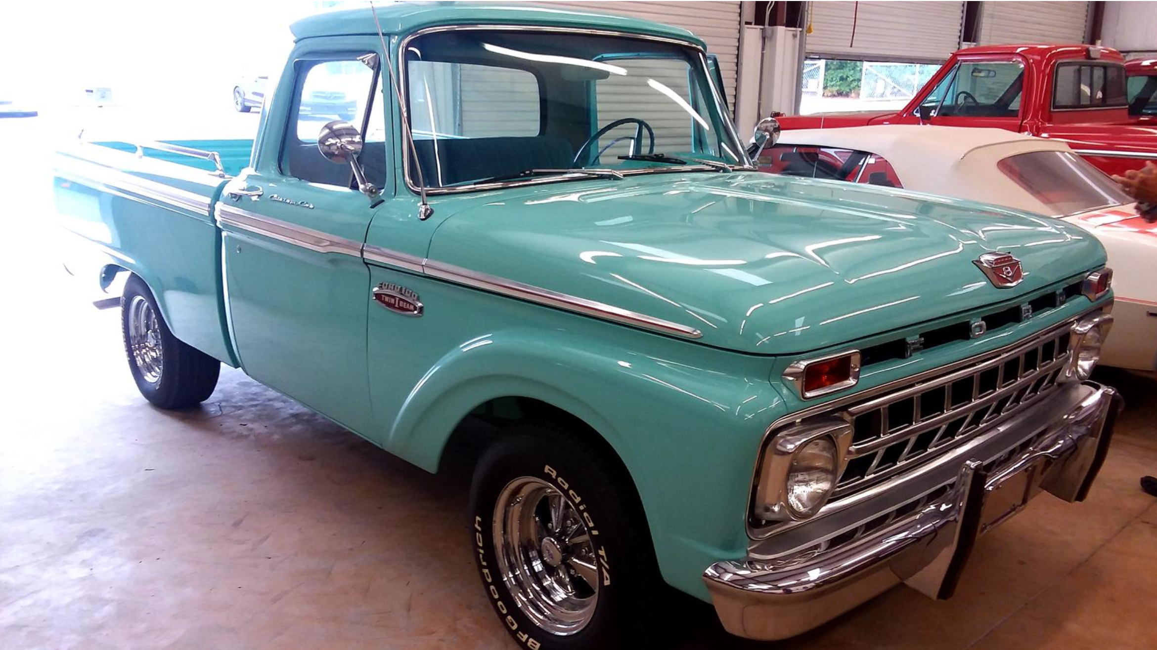 Haul It All With This Beautiful 1965 Ford F100 Swb Ready For Bids