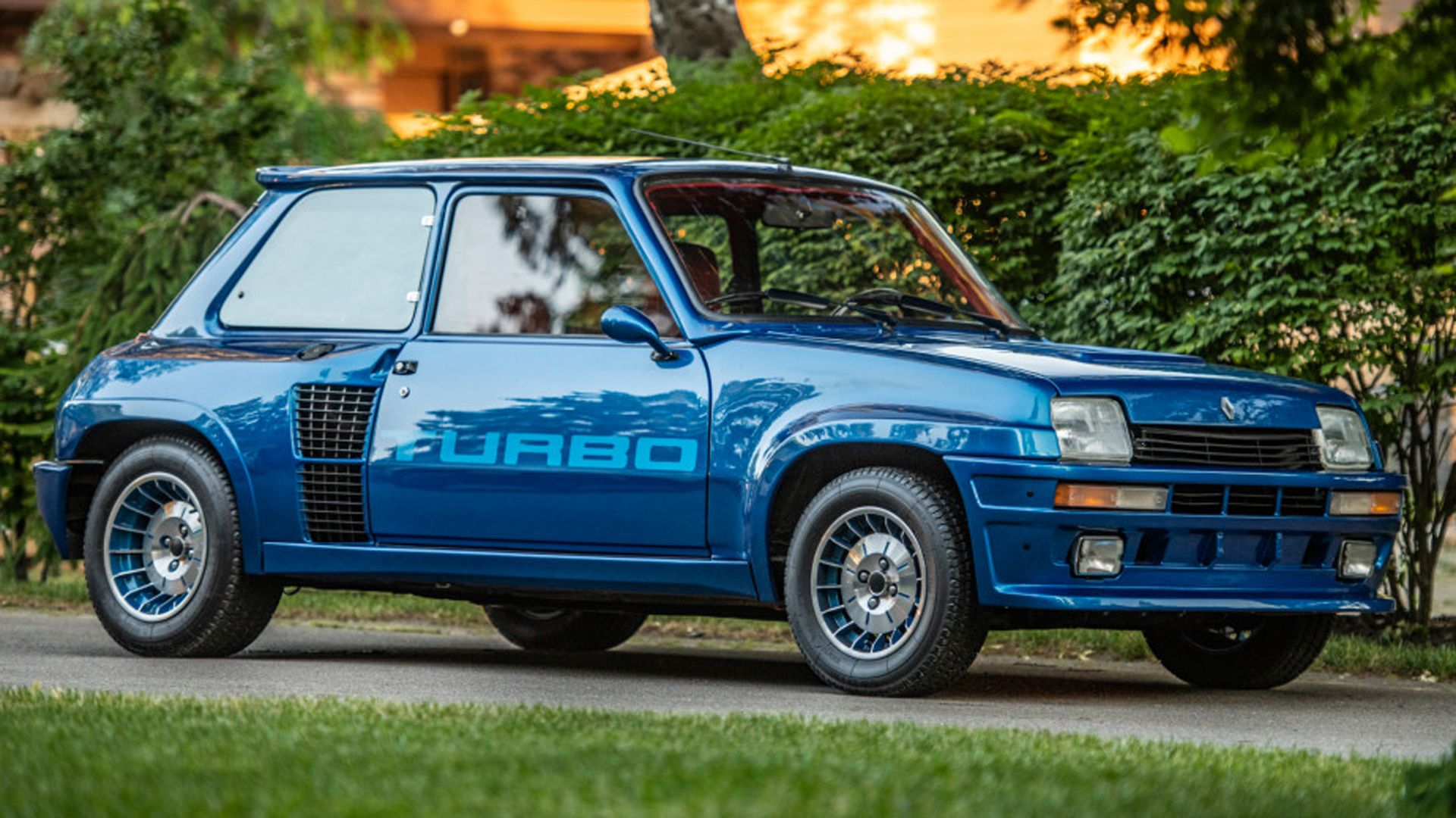 Hit The Trails In A Rally Bred 1981 Renault R5 Turbo