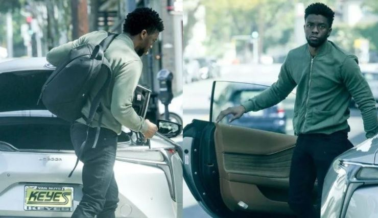 "<img src=""boseman.jpg"" alt=""Black Panther Chad Boseman drives a Lexus LC 500h"">"