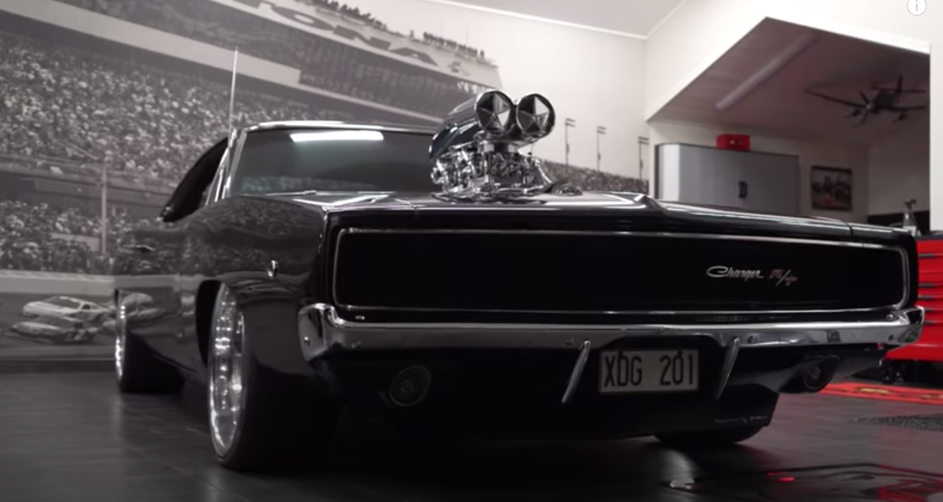 "<img src=""dodge-charger.png"" alt=""A 1968 Dodge Charger with a huge blower"">"
