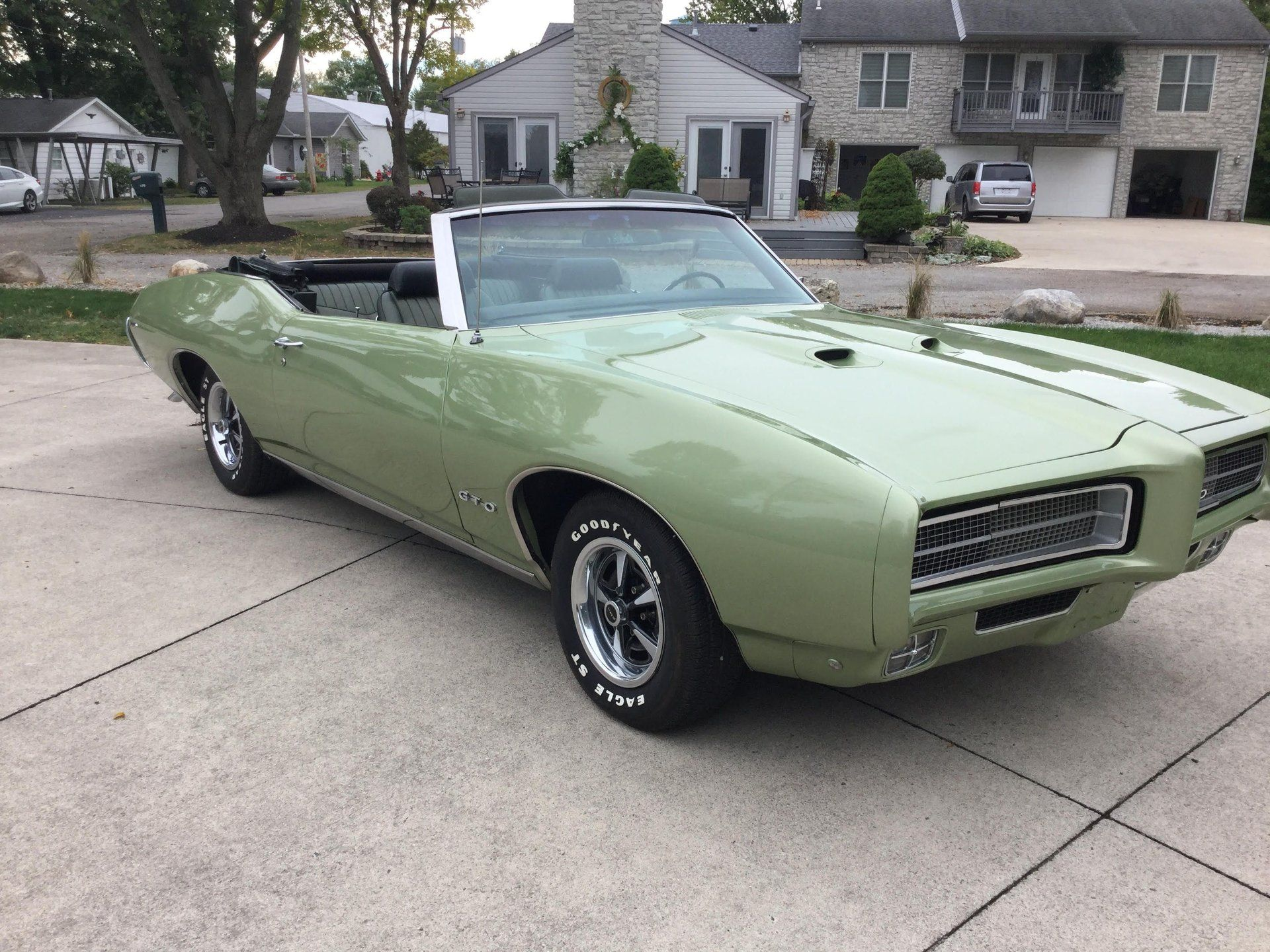 1969 GTO Being Sold By Two Time Owner