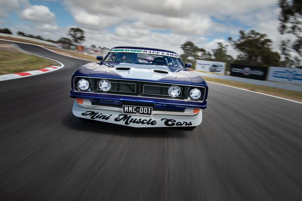 Mini Muscle Cars: Ford Falcon XB GT Has A Lot Of Muscle In A Tiny Package