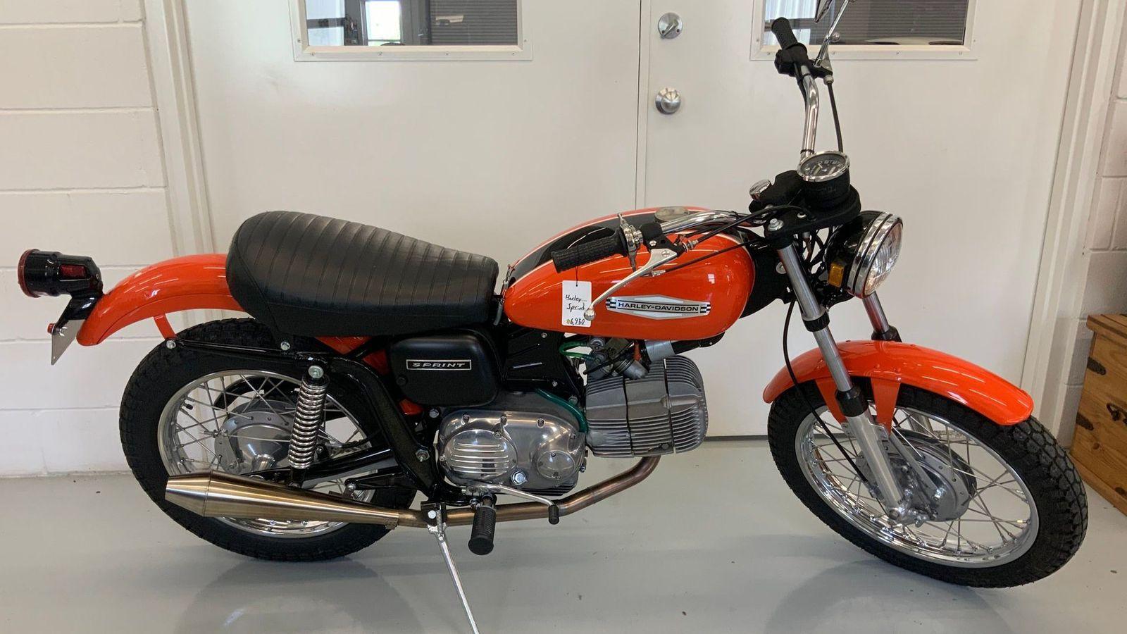 1972 Harley-Davidson Aermacchi 350 Sprint