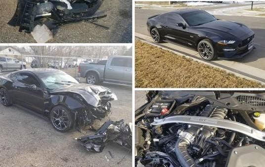 CO Ford Dealer Employee Crashes Customer's 2020 Mustang GT During Joyride