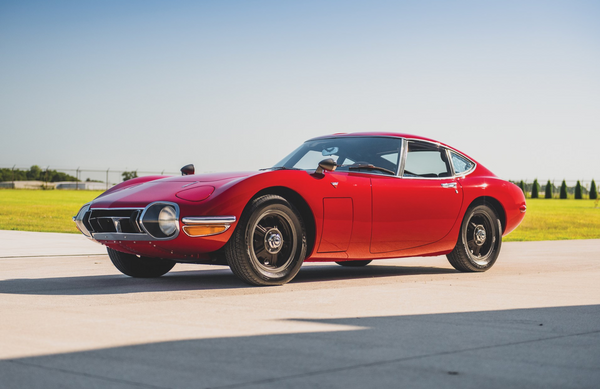 Rare 1967 Toyota 2000GT Expected To Bring Big Bucks At Auction