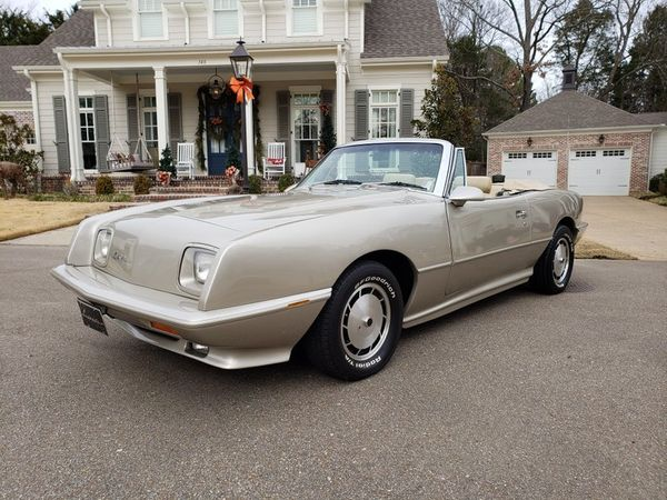 Go A Different Direction Buying This 1989 Avanti Convertible