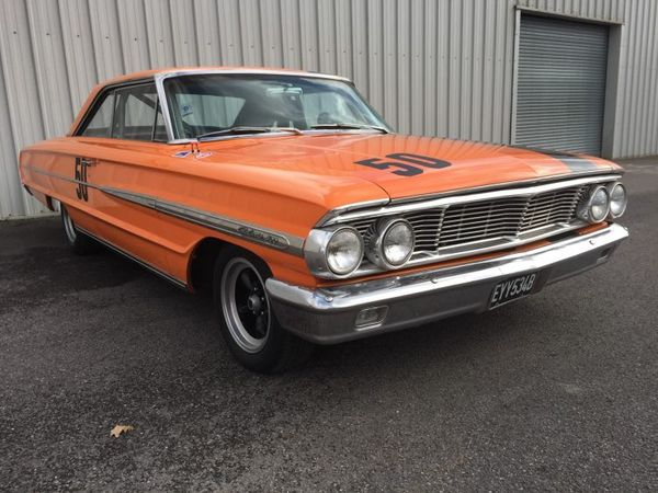 Tim Allen's Former 1964 Ford Galaxie Sells In London