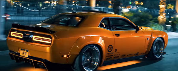 Listen To This Crazy Story Of A SEMA Dodge Challenger
