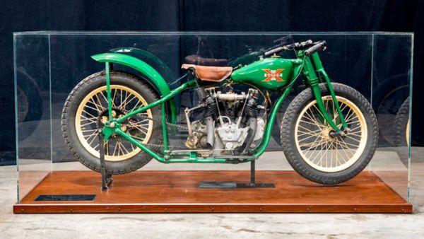 Own History With This 1926 Excelsior Super X