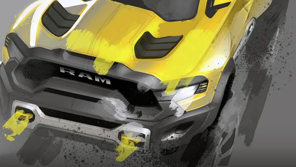 Chrysler Image Hints At Production Version Of Ram Rebel TRX