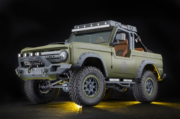 SEMA-Built Ford Bronco Is 'Urban Madness'