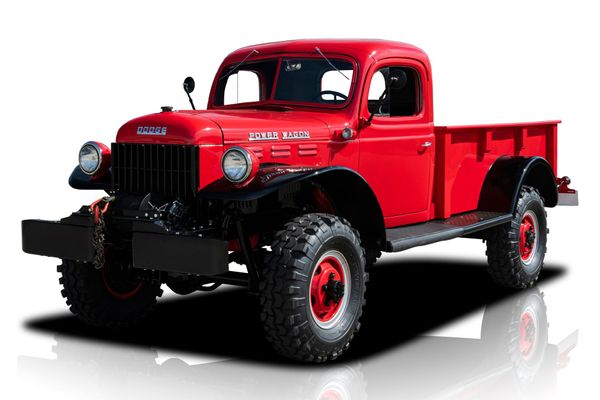 Stay Battle-Ready In A Restored 1952 Dodge Power Wagon 4x4