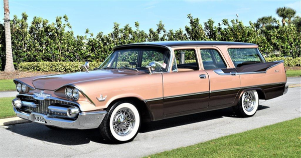 Load Up In A Two-Tone 1959 Dodge Royal Sierra