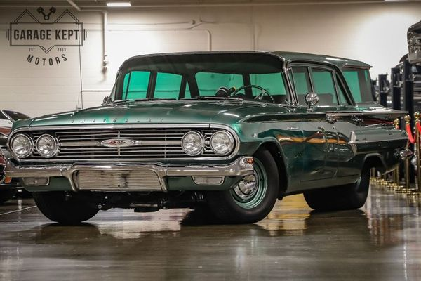 1960 Chevy Parkwood Is A Tubbed, Big-Block Grocery Getter
