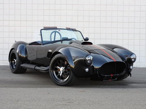 Break Necks In A Brand New 1965 Backdraft Cobra RT4B