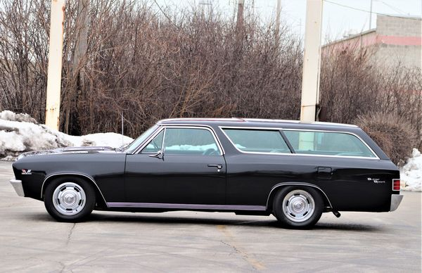 Custom 1967 Chevrolet Chevelle Wagon Will Haul It All