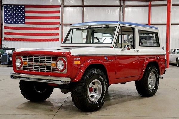 1970 Ford Bronco Pays Tribute To Bill Stroppe