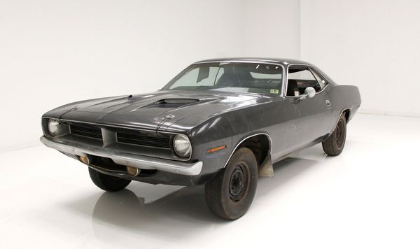 Barn Find 1970 Plymouth 'Cuda Roller Is The Ultimate Resto Project