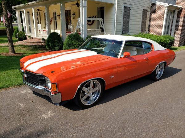Pro-Touring 1972 Chevrolet Chevelle Is A Hugger Orange Hero
