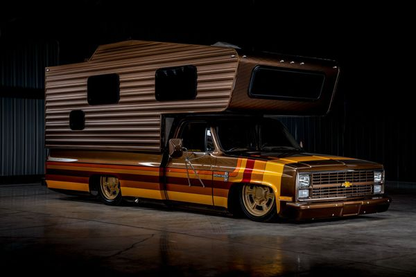 This SEMA Show Chevy Camper Can Be Yours For $180K
