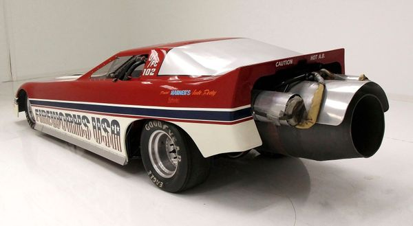 Light A Candle Behind This 1984 Chevrolet Corvette Jet Funny Car