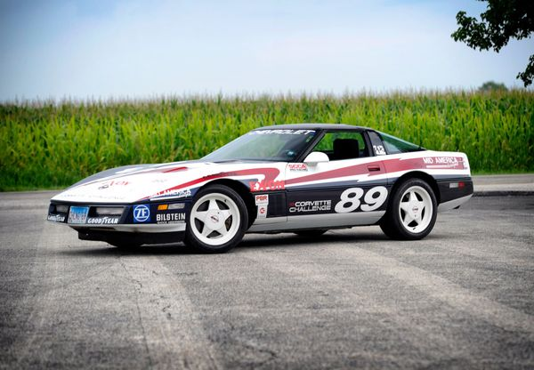 Buy This 1989 Corvette Challenge Spec Series Show Car