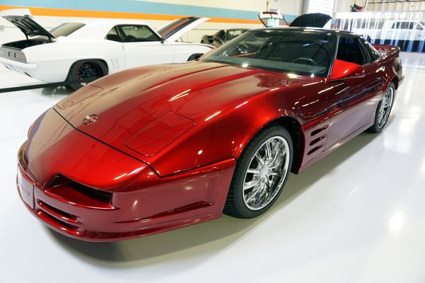 You Could Own This Highly Custom C4 Corvette 'Concept'