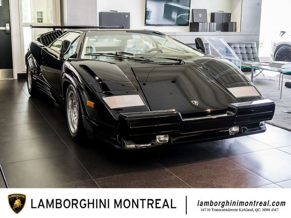 Snag This Lamborghini Countach 25th-Anniversary With Just 83 Miles