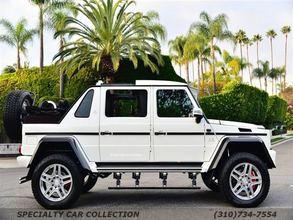 Buy A 1-of-99 Mercedes-Maybach G 650 Landaulet For $1.45M
