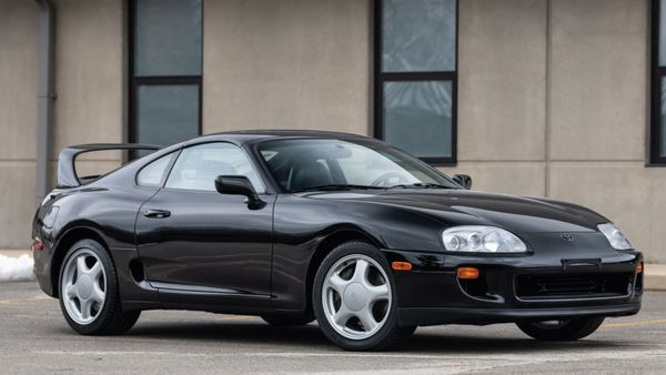 1993 Toyota Supra Turbo Auction Meets Expectations