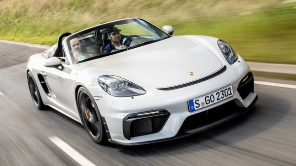 Enter To Win A 2020 Porsche Boxster