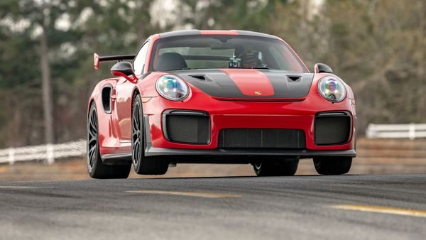 Watch A Porsche 911 GT3 RS Approach Its Official Top Speed