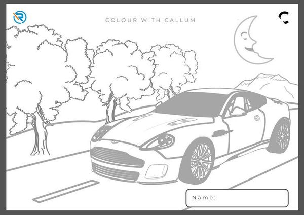Ian Callum Pens Aston Martin Coloring Pages For Kids