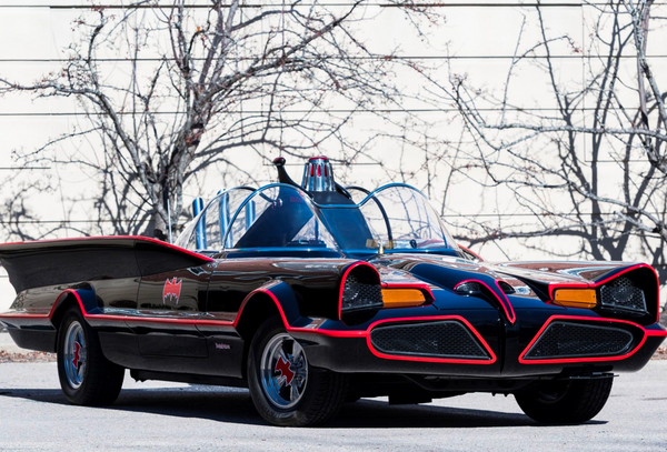 Bid Online For This Rare 1966 Batmobile Replica