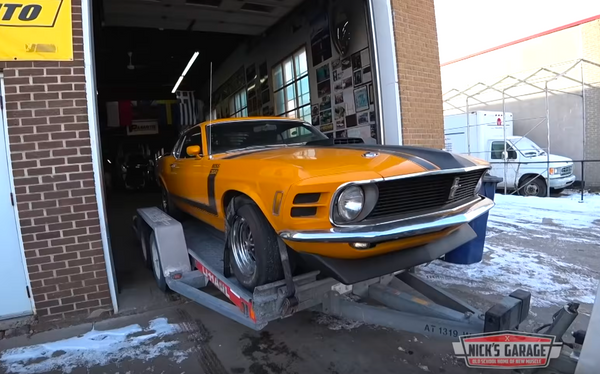 1970 Mustang Boss 302 Sees Light After 25 Years